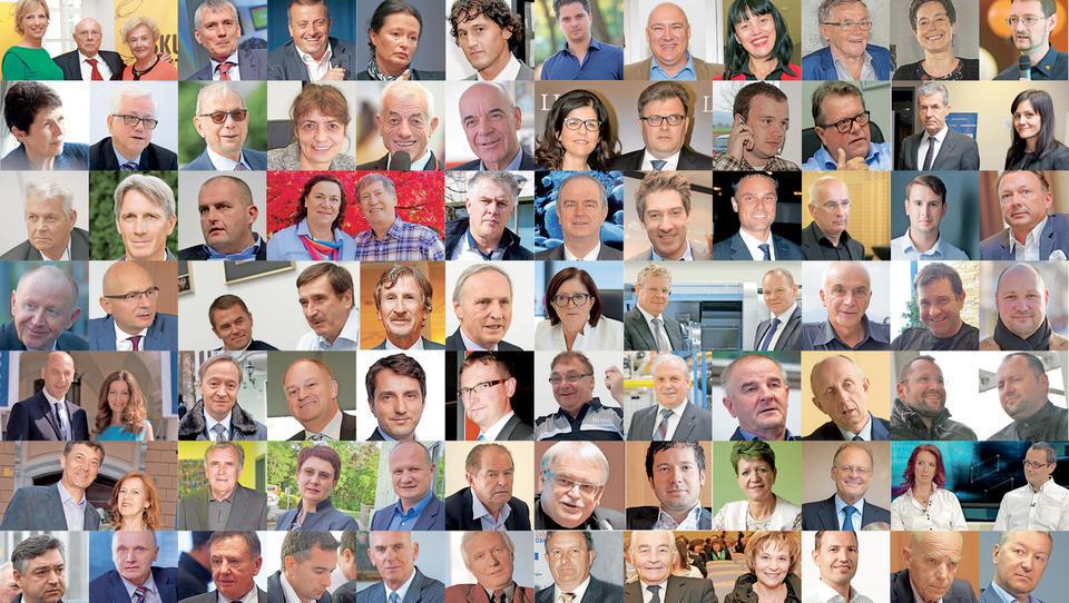 (lestvica) To je 100 najbogatejših Slovencev 2017!