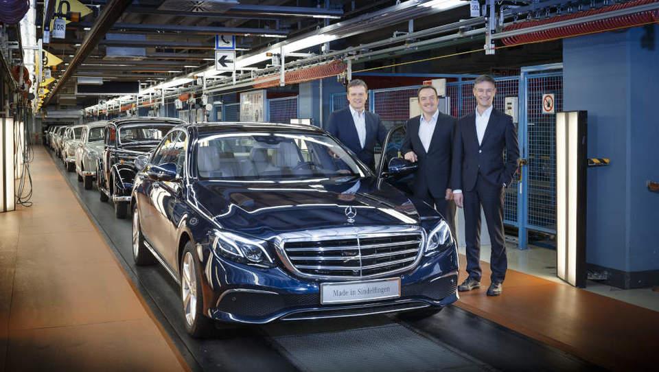 Novi Mercedes-Benz razreda E nastaja tudi s pomočjo avatarjev