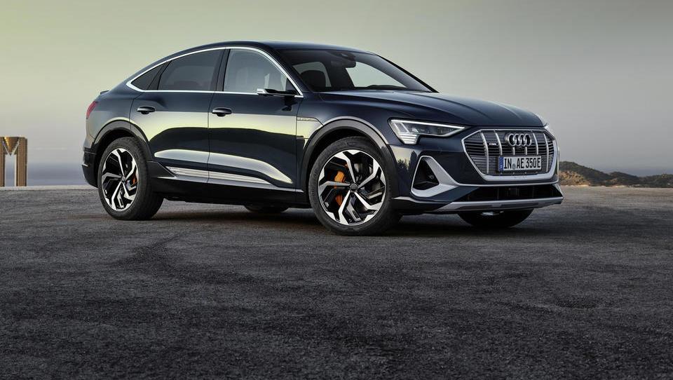 E-tron sportback: Audijev drugi električni avto z izjemnimi žarometi