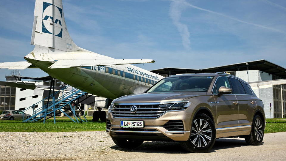 Volkswagen touareg kot paradni konj visoke tehnologije