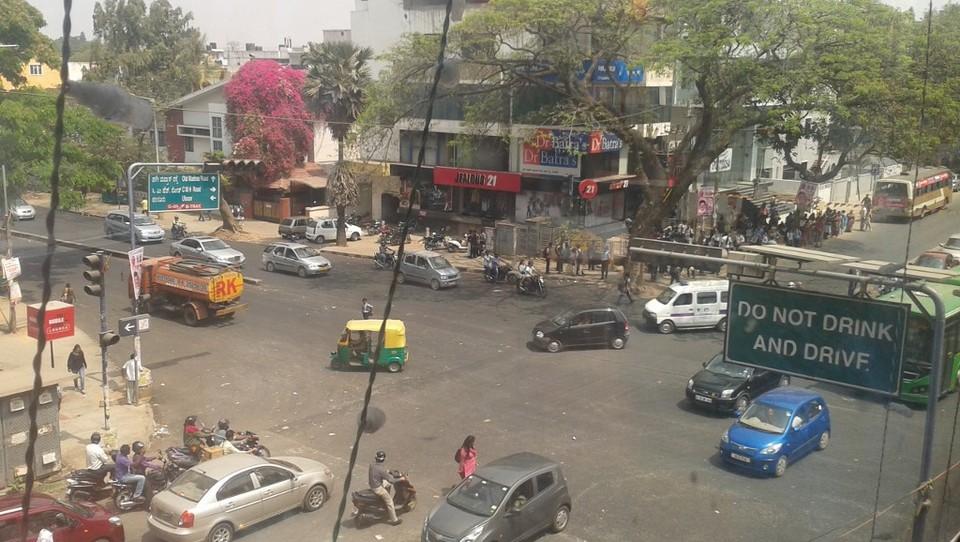 Slovenec v Indiji: Prvi dnevi v Bangalorju, prvi kulturni šok