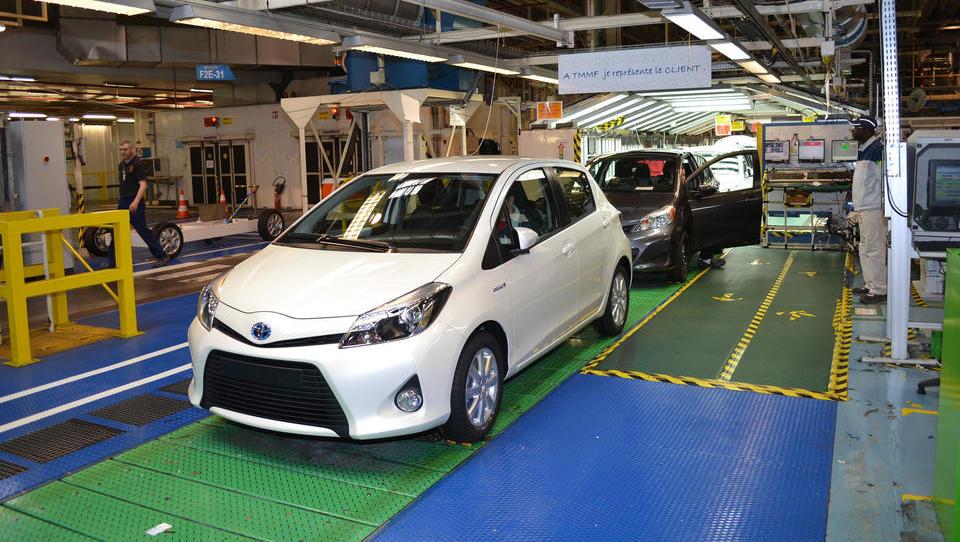 Toyota vlaga v tovarno v Franciji, ustvarila bo 700 novih delovnih mest