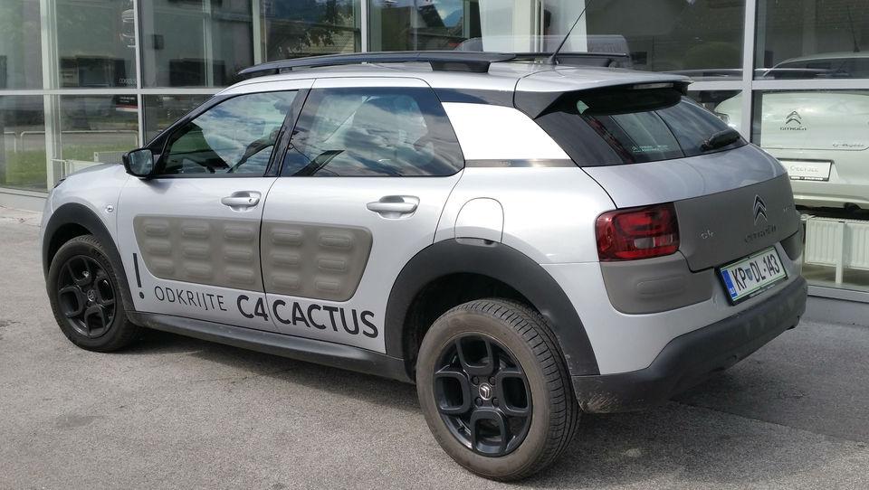 Citroënov vpadljivi 'kaktus' pri nas za 13.900 evrov