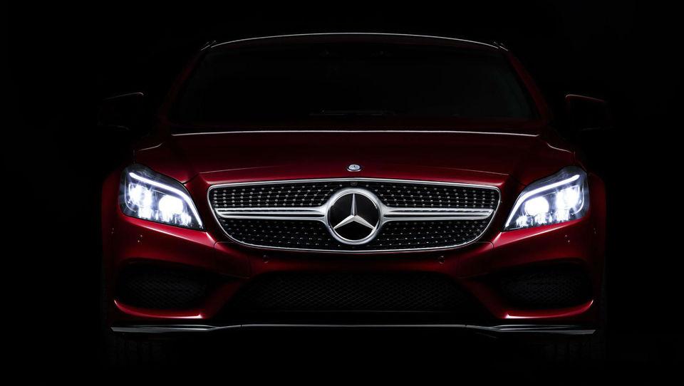 Prenovljeni Mercedes CLS z vrhunskimi LED žarometi