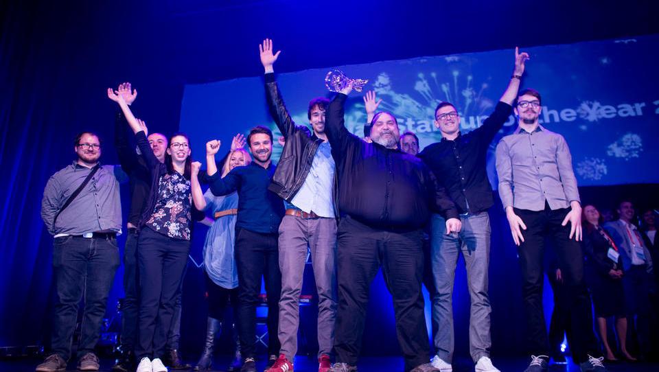 Slovenski startup leta 2017 postalo podjetje Viar