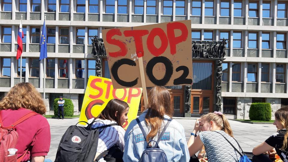 Kako so mladi pripravljali tokratni podnebni štrajk