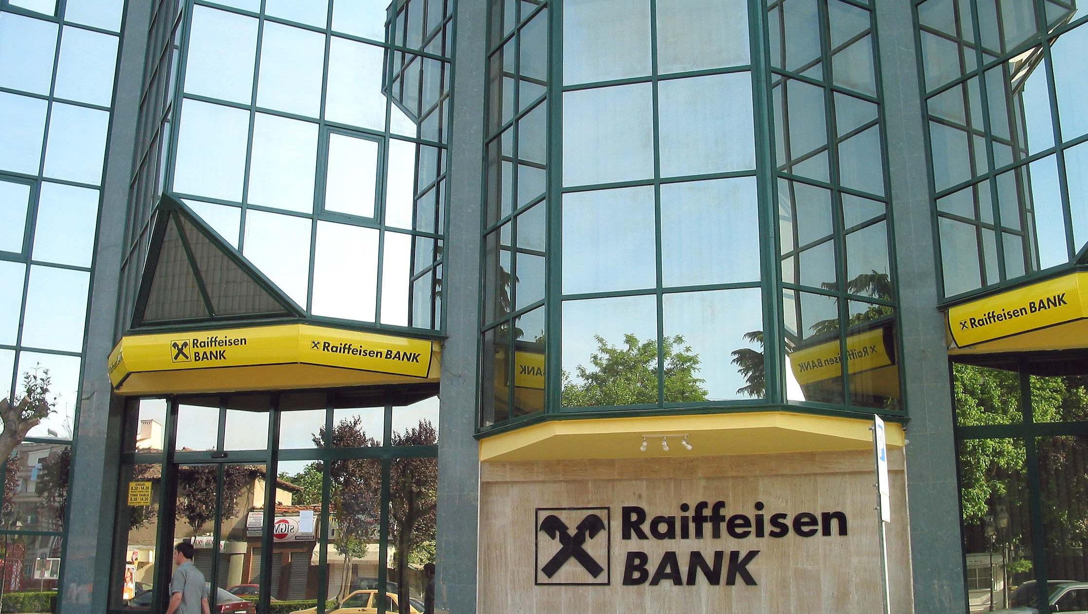 Raiffeisen v četrtletju krepko povečala dobiček