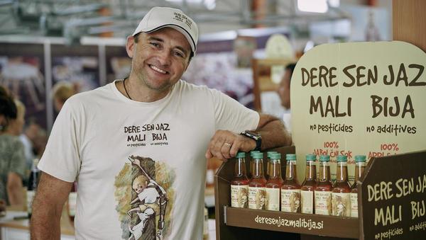 Pomurski eko sadjar: Nikakor ne želim biti podjetnik, delam tisto, kar delam rad