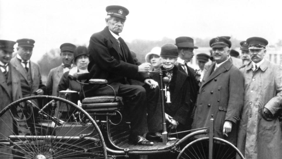 Znanje Carla Benza in denar njegove žene pred 130 leti ustvarila prvi avto