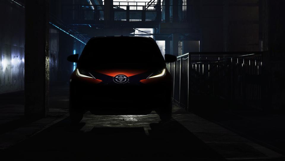 Toyota draži z novim aygom