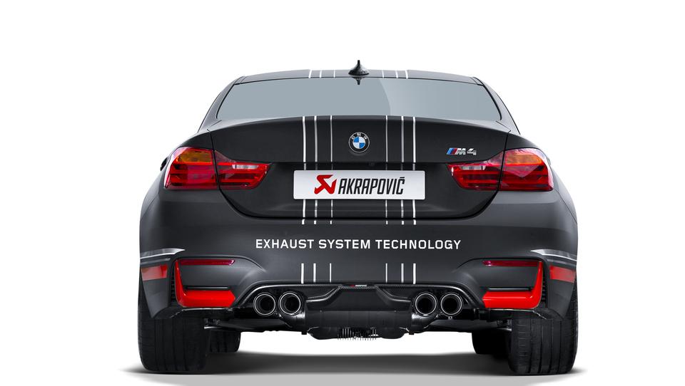 BMW M3 in M4 še bolj divja z Akrapovičevim izpuhom