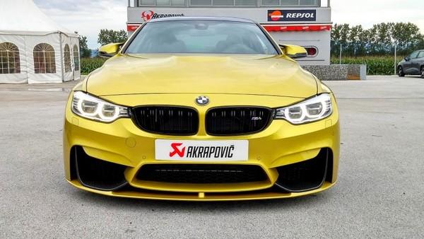 (video) Akrapovičev BMW M4 grmi na Dolenjskem