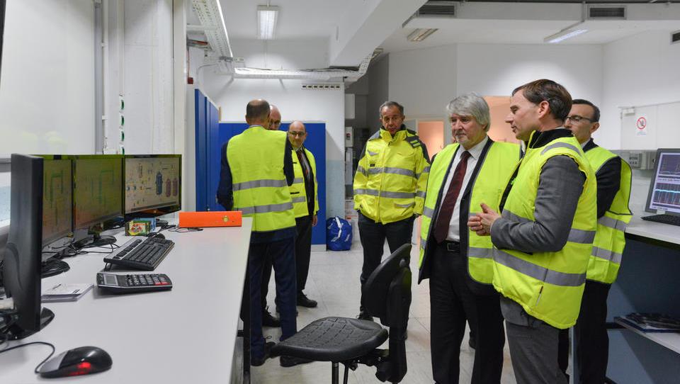 Italijanski minister za delo obiskal AquafilSLO