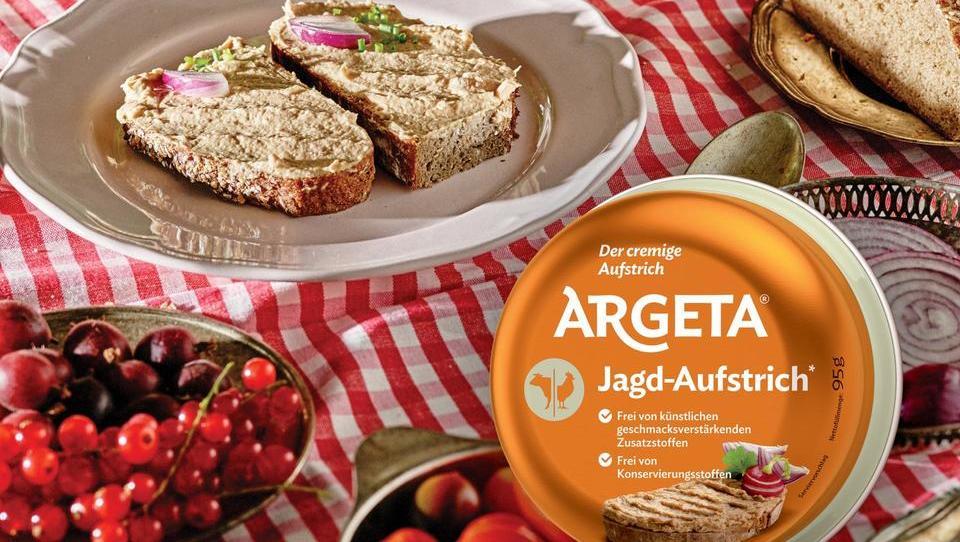Argeta möchte auch in Deutschland der Aufstrich Nummer 1 werden