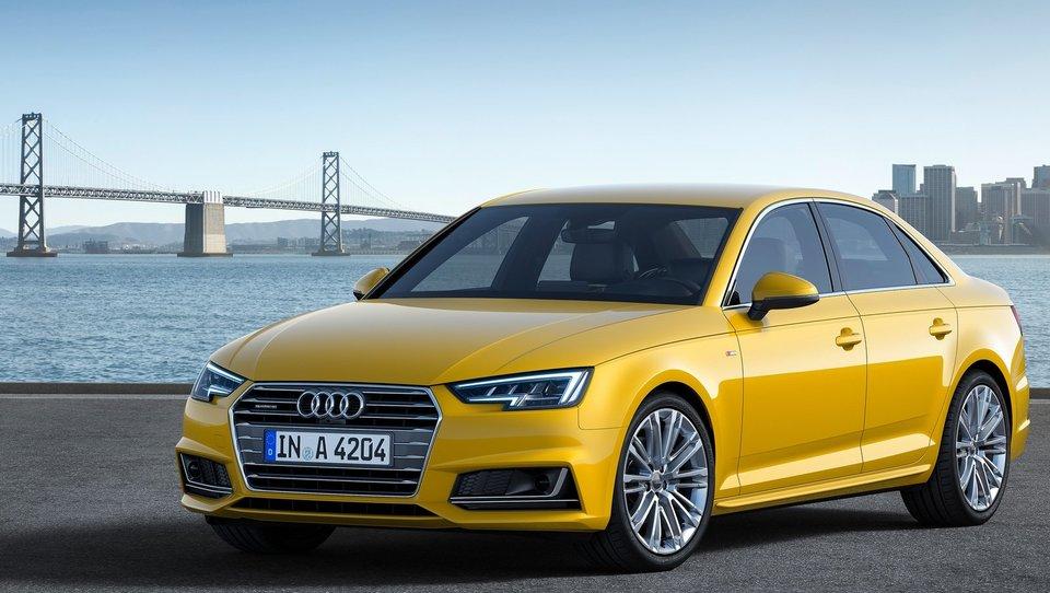 Audi z novim A4 draži čutila in miri živce