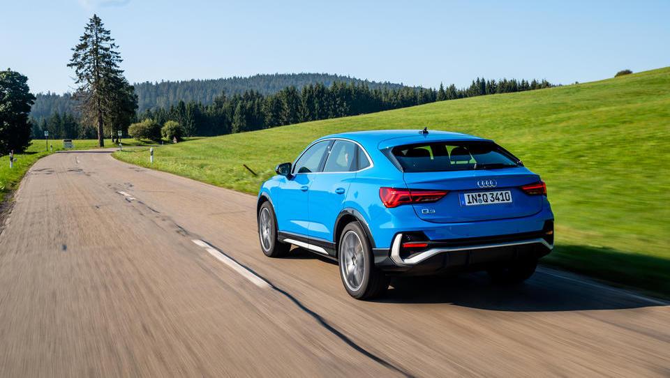 Audi Q3 sportback: Znana vsebina v izstopajoči obliki