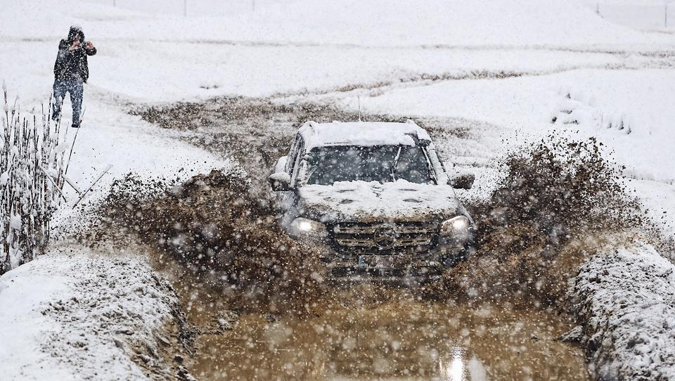 Mercedesov 4Matic za prave zimske užitke