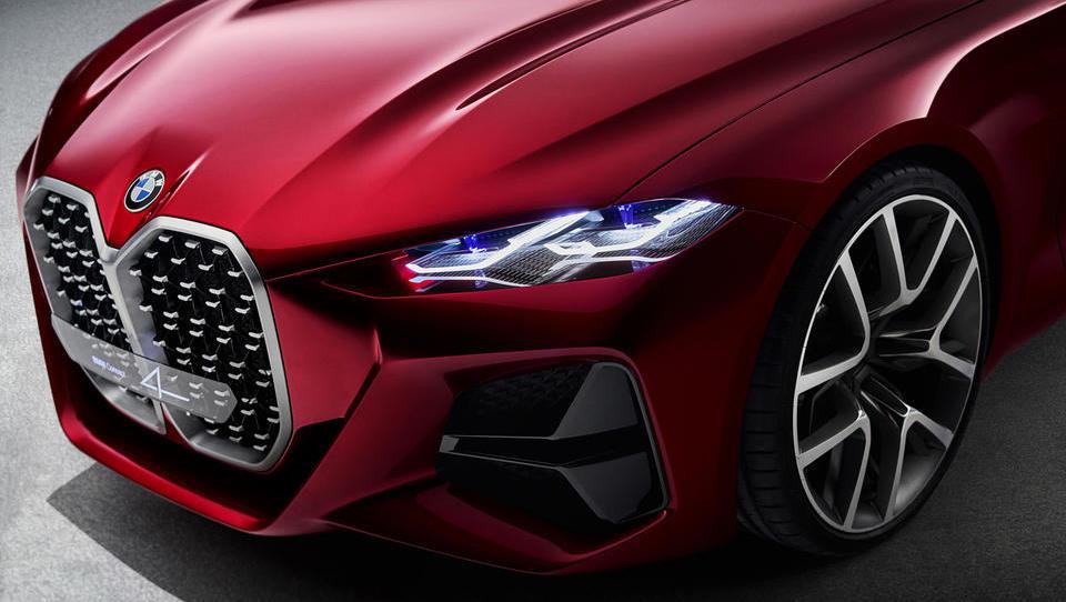 BMW se s serijo 4 vrača v čase pokončnih ledvičk