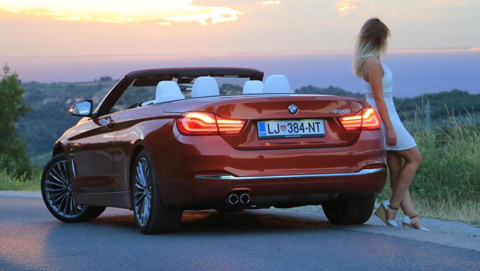BMW 430i cabrio: tista prava kombinacija