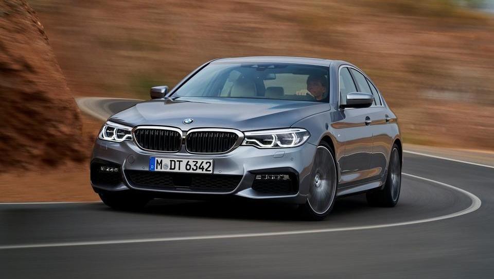 To je novi BMW serije 5
