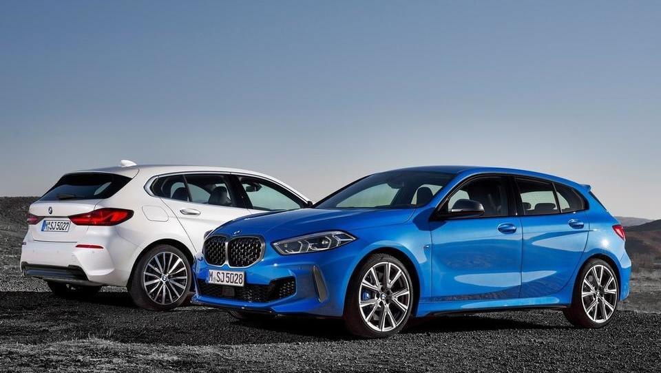 BMW razkriva novo serijo 1 in se poslavlja od zadnjega pogona