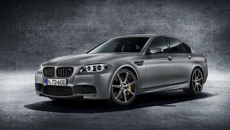 Jubilejni BMW M5 izkoristil za najmočnejši M v zgodovini