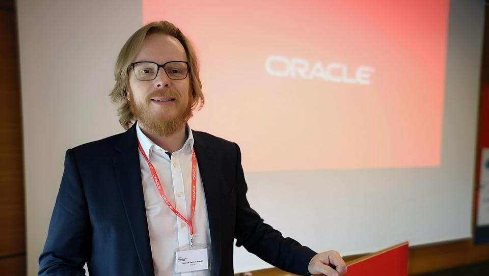 (Intervju) Michael Bednar-Brandt, Oracle: Vse inovacije se morajo začeti s poslom, ne s tehnologijo