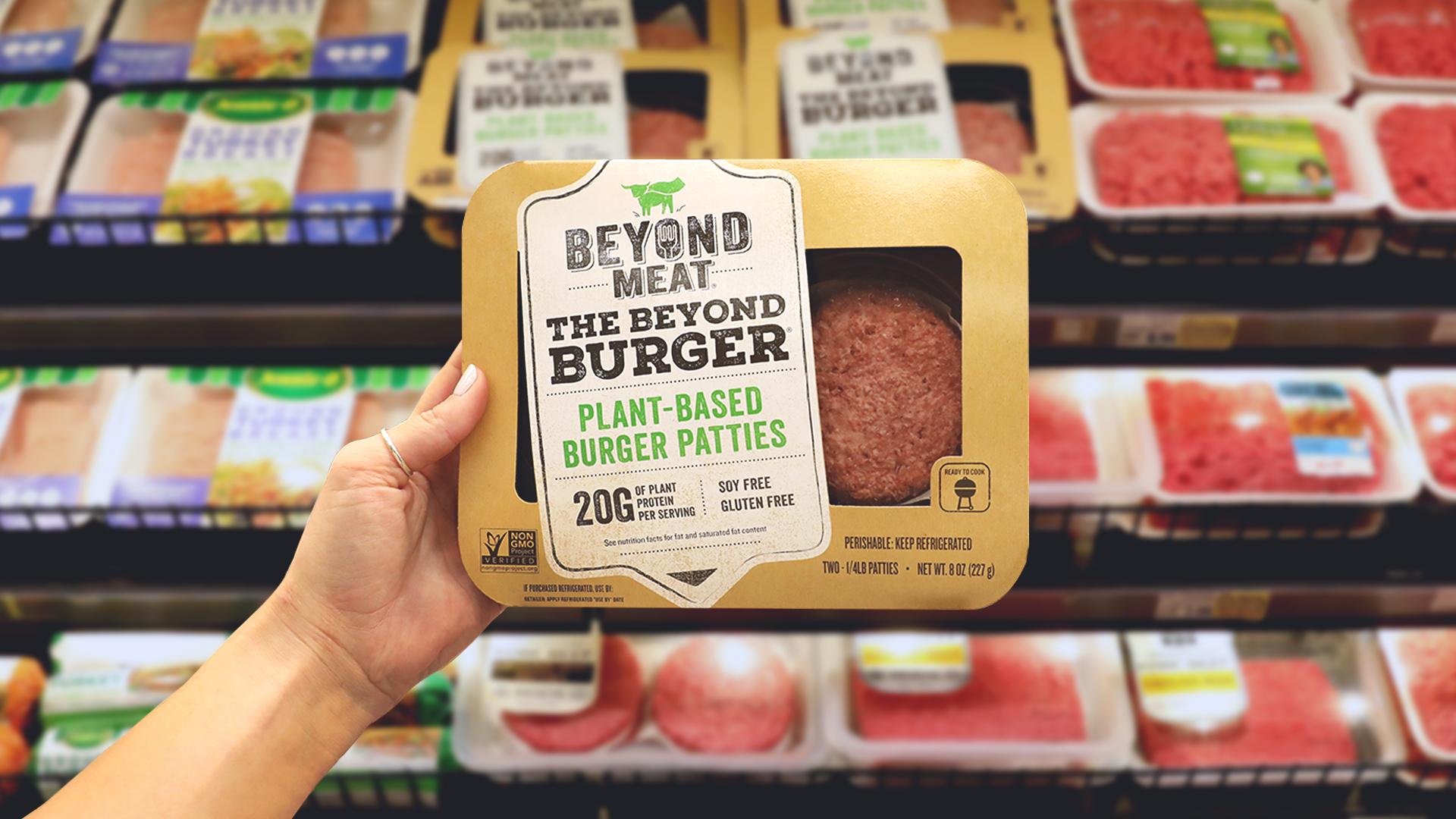 Proizvajalcu rastlinskega mesa uspel največji polet na borzni debi po letu 2000