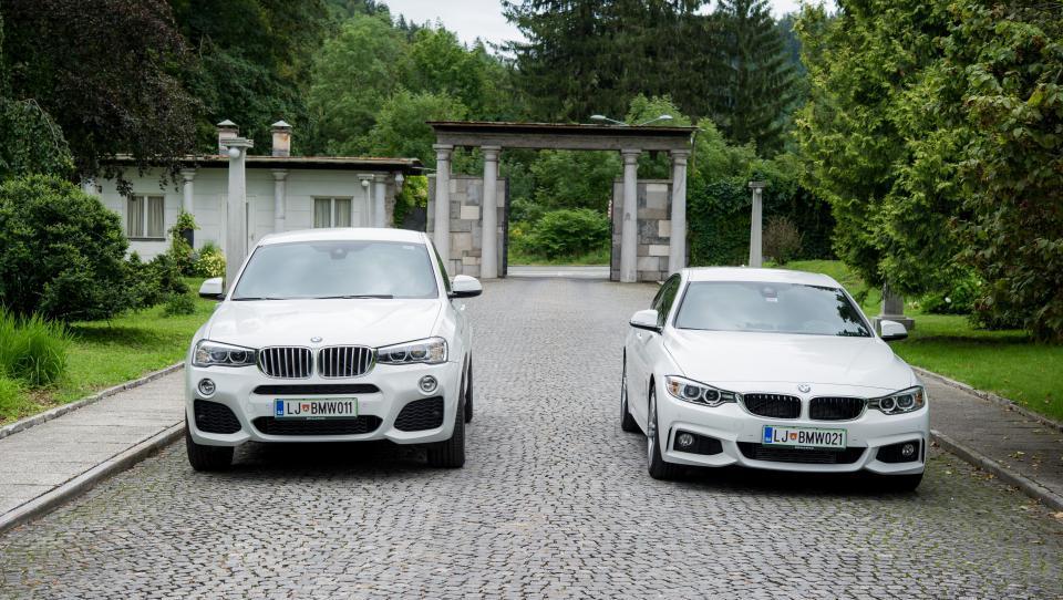 Zlitje elegance in ekstravagance v novih štiricah BMW