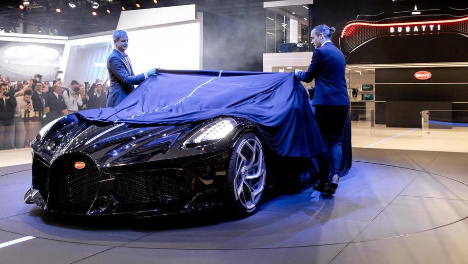 Najdražji avto za več kot 16 milijonov evrov v sosednjo Avstrijo?