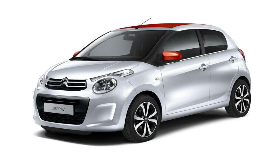 Mestni Citroën C1 tudi z zložljivo streho