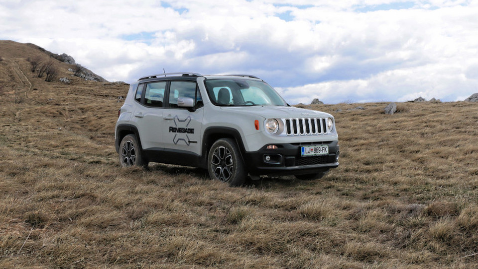 Mali Jeep z velikimi cilji