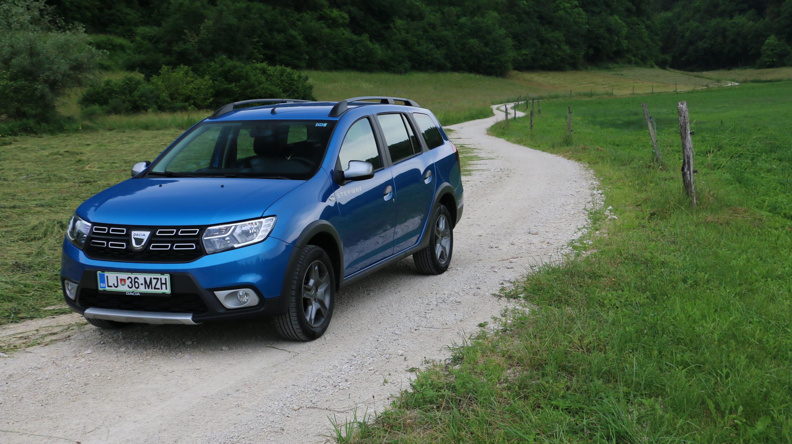 Dacia logan MCV: Za prve korake po brezpotju
