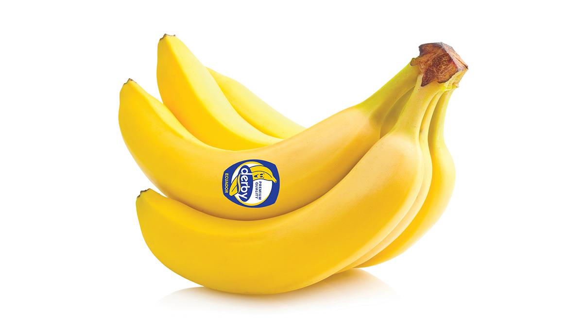 Banane Derby za aktiven, zdrav in dober dan