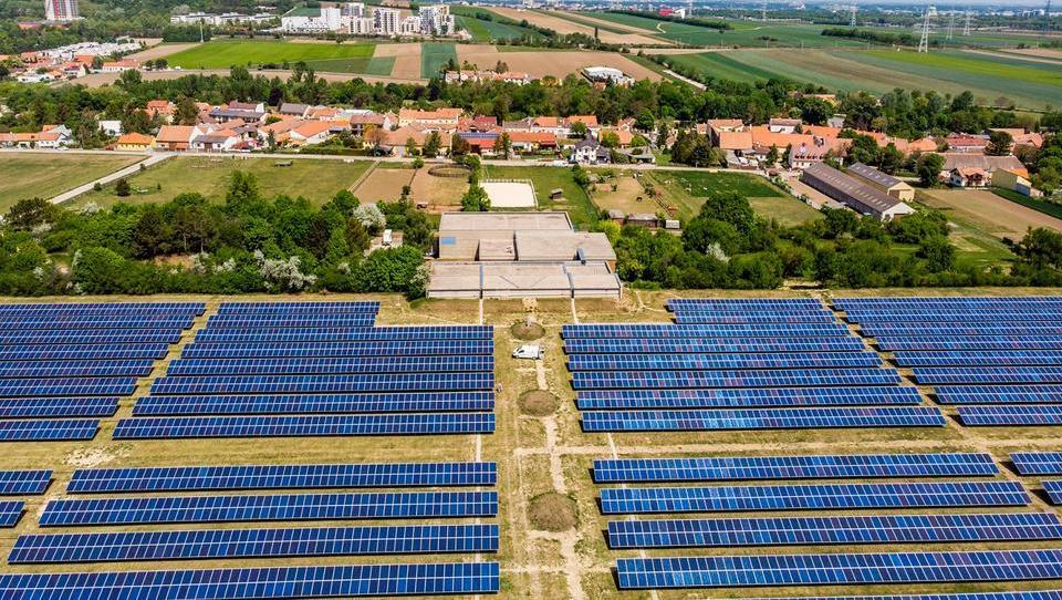 To je nova največja sončna elektrarna na Dunaju