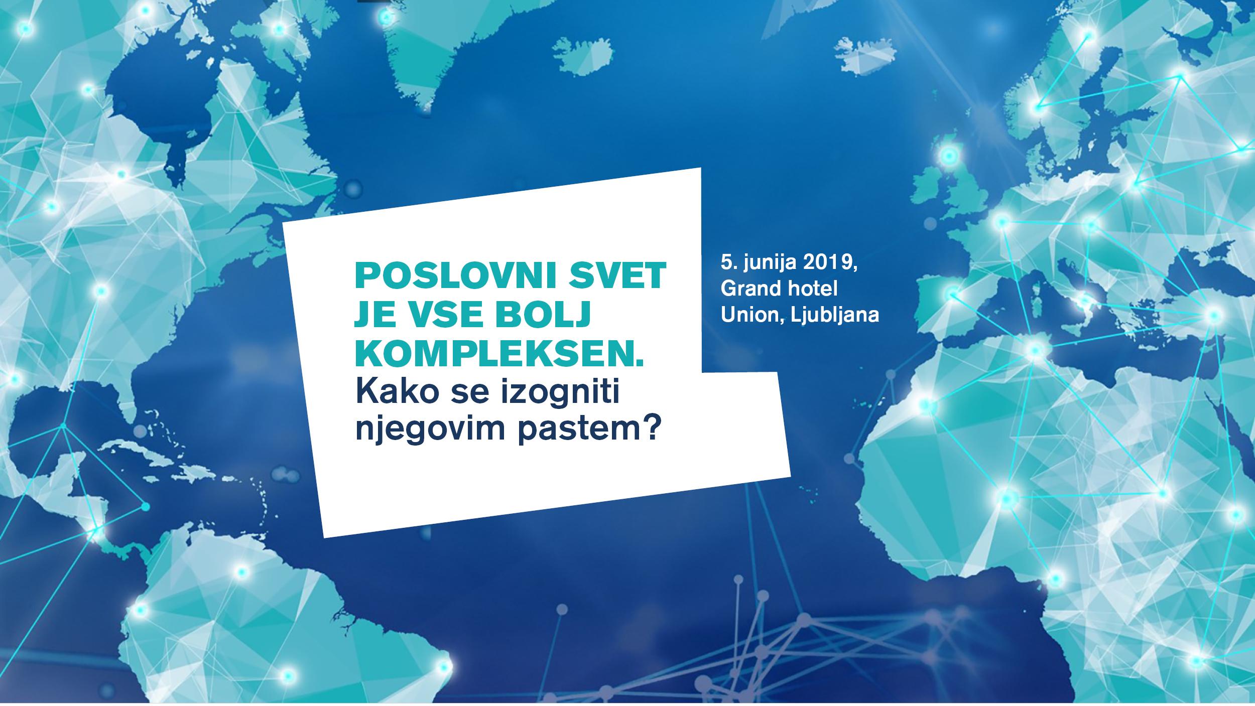 Mednarodna tveganja, ki zaznamujejo slovensko gospodarstvo.  Kaj se nam obeta?
