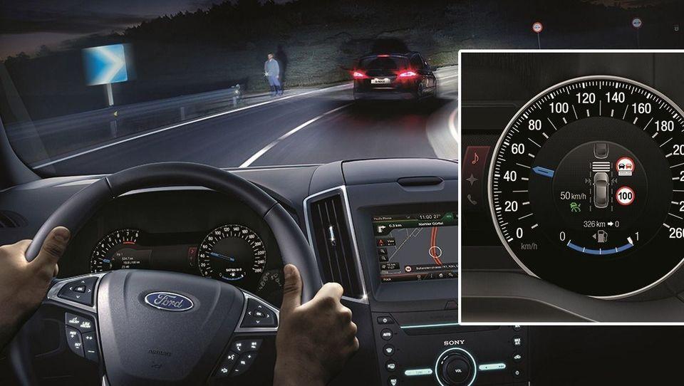 Bi imeli avto, ki namesto vas sledi omejitvam hitrosti?