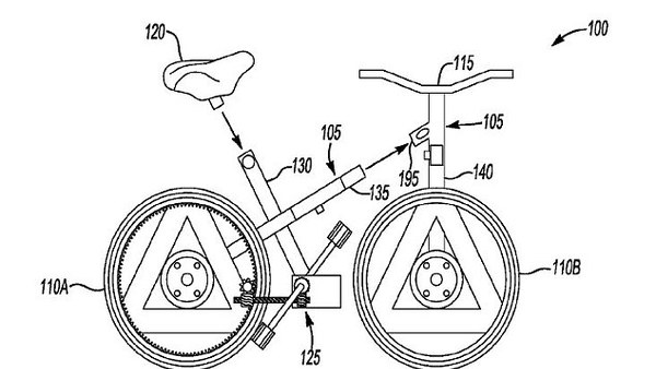 Ford, ki se spremeni v kolo