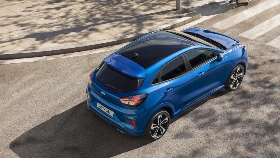 Ford puma: iz kupeja v (tudi hibridni) športni crossover