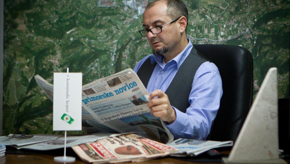 Mišič in Selan sta se stepla za Primorske novice; slavil je Mišič