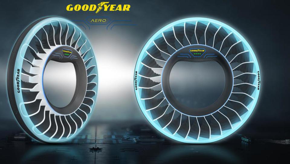 (video) Takšne gume bodo obuli samovozeči in leteči avti prihodnosti