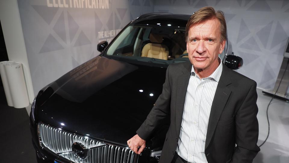 Volvo krepko izboljšal poslovanje v prvem četrtletju