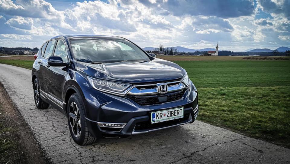 Honda s hibridnim CR-V dizle pošilja na smetišče zgodovine