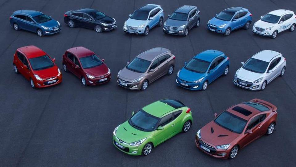 Hyundai po milijardnih naložbah sledi Volkswagnu