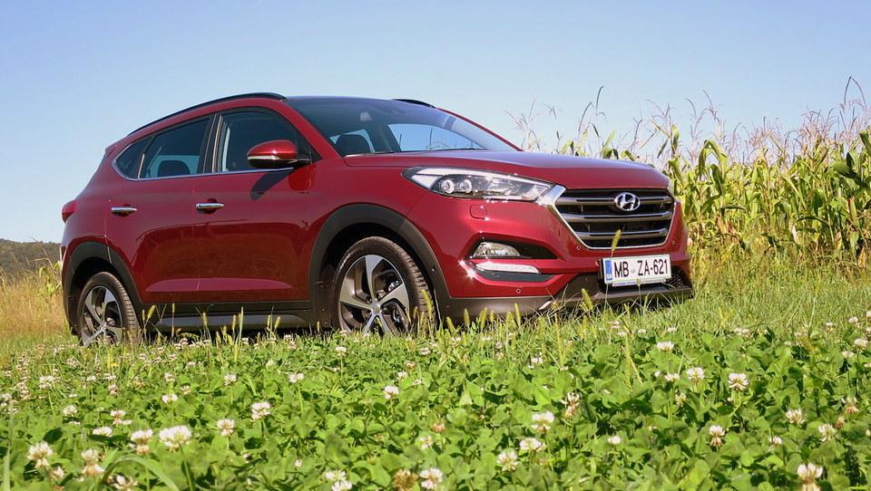 Prepričljivi Hyundai tucson že osvaja Slovence