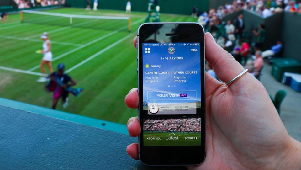 Nov triumf umetne inteligence v Wimbledonu