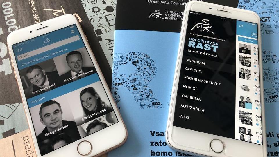 24. Slovenska marketinška konferenca tudi na konferenčni aplikaciji