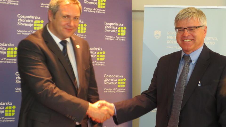 Pri podpori izvoznikom bosta kmetijsko ministrstvo in GZS bolj sodelovala