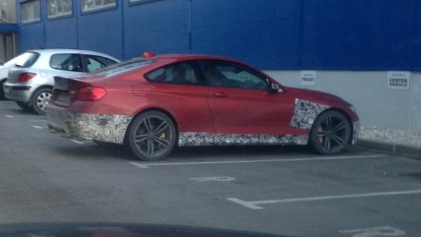 V Šenčurju smo ujeli zamaskirani BMW M4 coupe