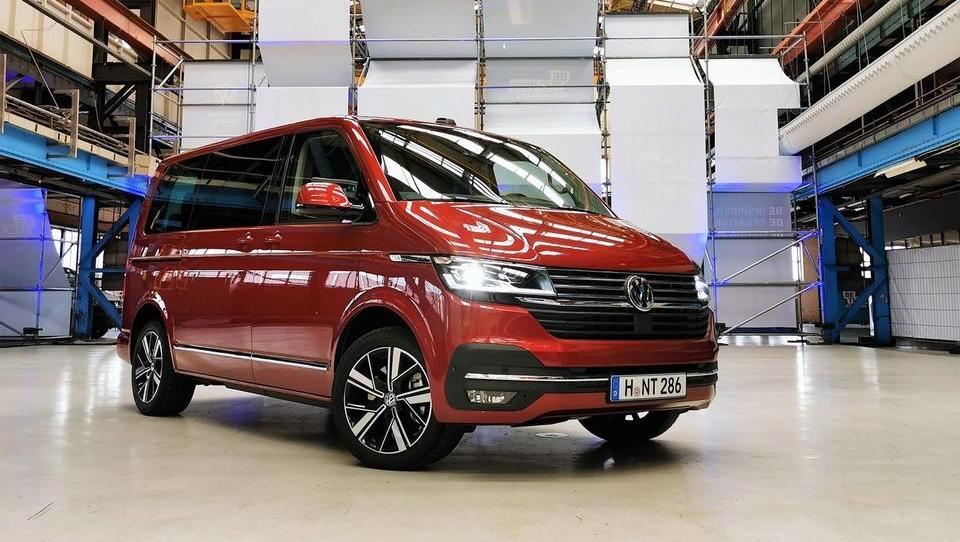 Volkswagen T6.1: času prilagojena tovorno-potniška klasika